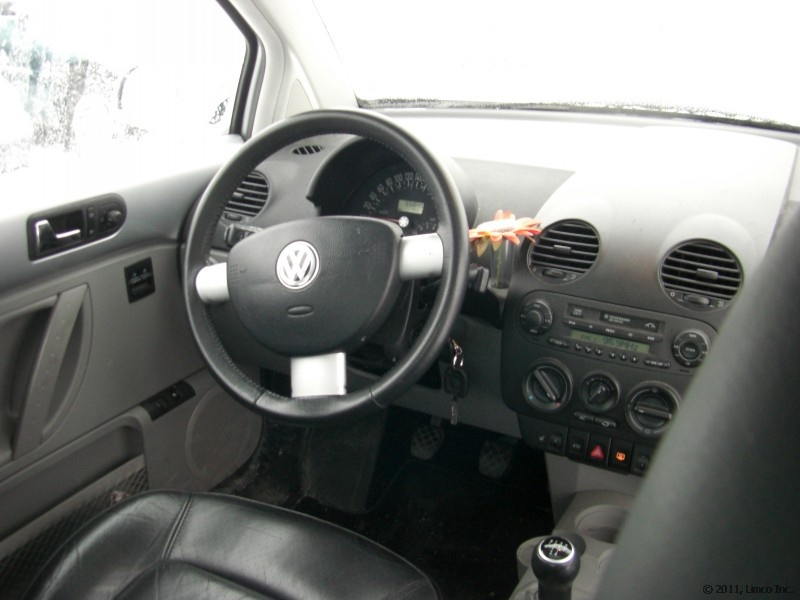 Limco volkswagen new beetle glx 2001 for Interieur new beetle